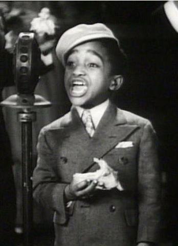 *SAMMY DAVIS JR. ~ in Rufus Jones for President, 1933