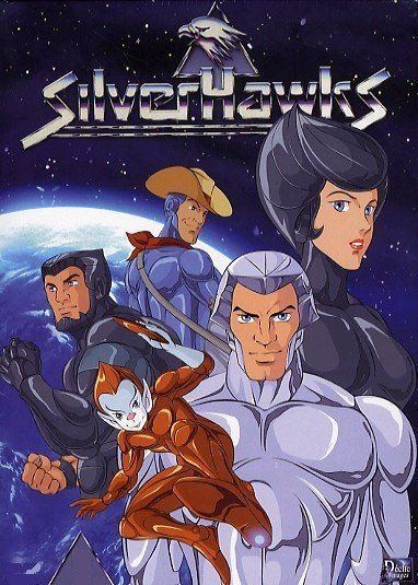 The Silverhawks.  Resurrected Cyborgs of dead people.  Yeah, this was a kids' show in the 1980s.  Inspired by RoboCop, this lasted two full seasons.  Aired on weekday afternoons 5 days a week for kids just getting home from school.