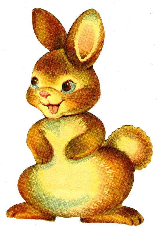 #Easter #bunny (vintage Easter decoration)