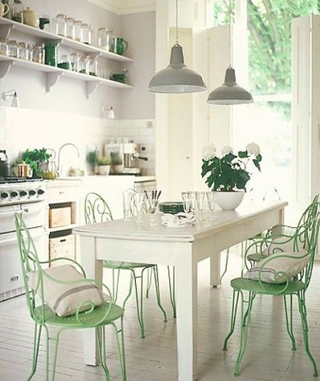 Green And Gray Kitchen: 17 Best Images About Kitchen-cream Or Dark Brown? On Pinterest