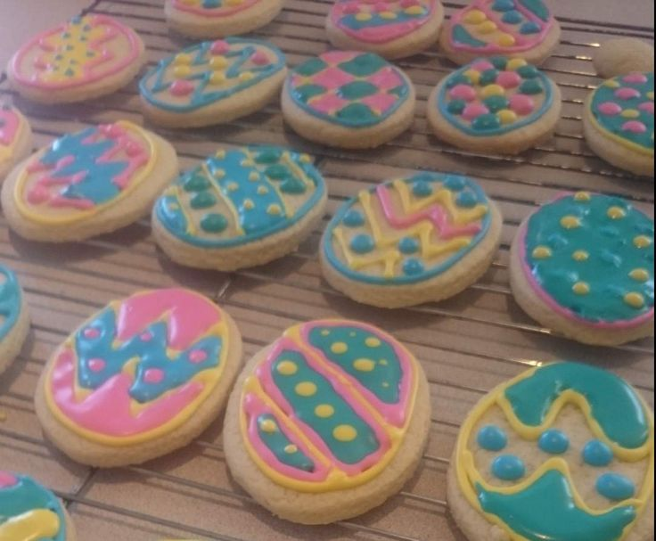Recipe Easy Thermomix Easter Biscuits by Elliebird - Recipe of category Baking - sweet