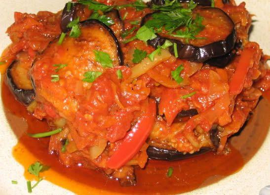Баклажаны на зиму Рецепт имамбаялды по-болгарски на зиму. Сегодня мы познакомимся с интересным рецептом домашней заготовки из баклажан и помидор — овощным соте из этих овощей с добавлением петрушки …