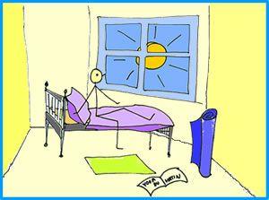 Chaque matin, 10-20 minutes de yoga : Fiche de séance de yoga courte pour commencer la journée (format PDF)