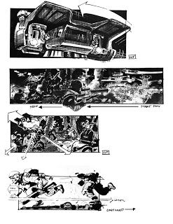 'Terminator 2: Judgement Day' Storyboards by Philip Norwood, Steve Berg and John Bruno | RAR Writes