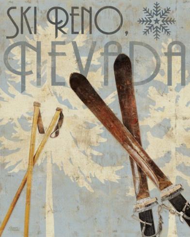 vintage ski.