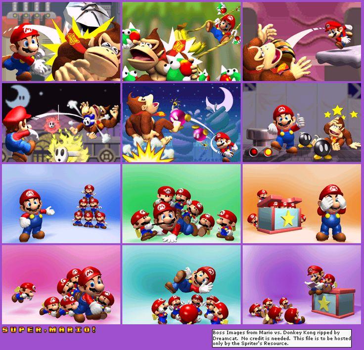 The mini Marios though