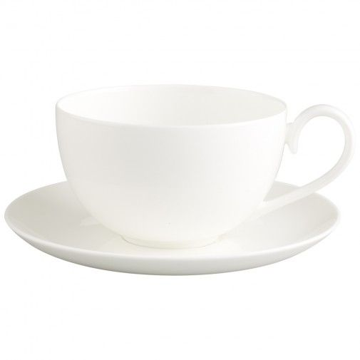 Villeroy & Boch Royal Café au lait mit Untertasse 2tlg. XL viermal