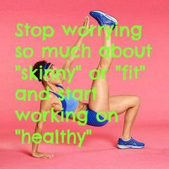 Skinny vs. fit