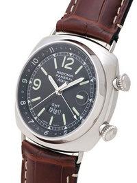 View large image of Panerai Historic Radiomir GMT/Alarm Steel Watch PAM 98
