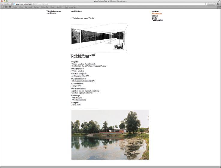 B/M for Vittorio Longheu — website