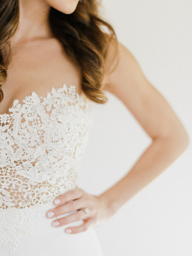 Strapless Martina Liana wedding dress: Tropical Chic Wedding in Nicaragua