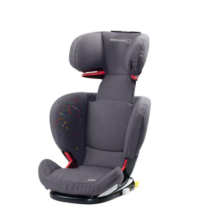 SILLA DE COCHE RODIFIX CONFETTI BEBECONFORT.  Grupo 2/3 de 15 a 36 kg, desde los 3 años hasta los 12 años.  *La Instalación de esta silla es muy eficiente, gracias a su sistema de anclaje Isofix.  *Permite su instalación con cinturón.  *Con tecnología airprotect para impactos laterales en el cabezal.  Plazo de entrega para este producto: 24-48 horas.