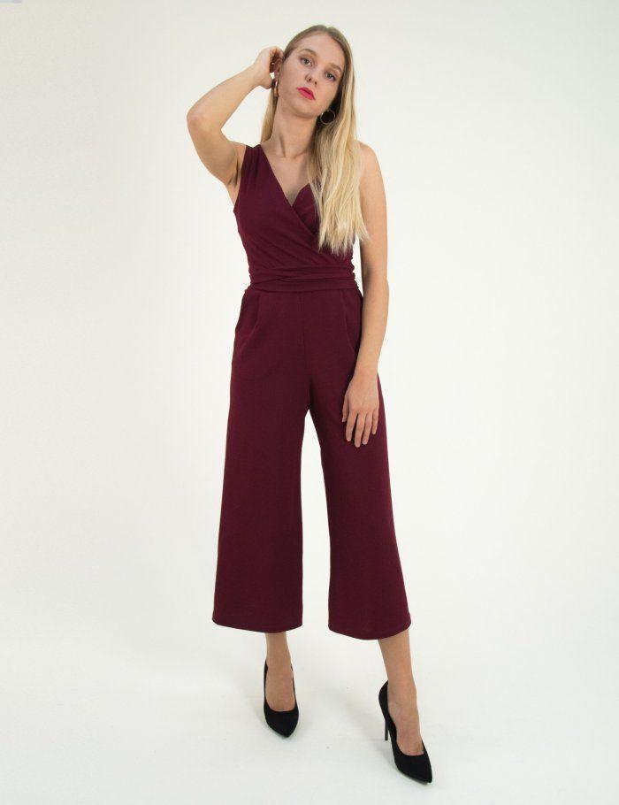 2759a8d3c2f3 Γυναικεία μπορντό ολόσωμη φόρμα Lipsy καμπάνα κρουαζέ 2180301  τορούχο   torouxo  gynaikeia  γυναικεια  ολόσωμεςφόρμες  oloswmesformes  φθινοπωρινά   online   ...