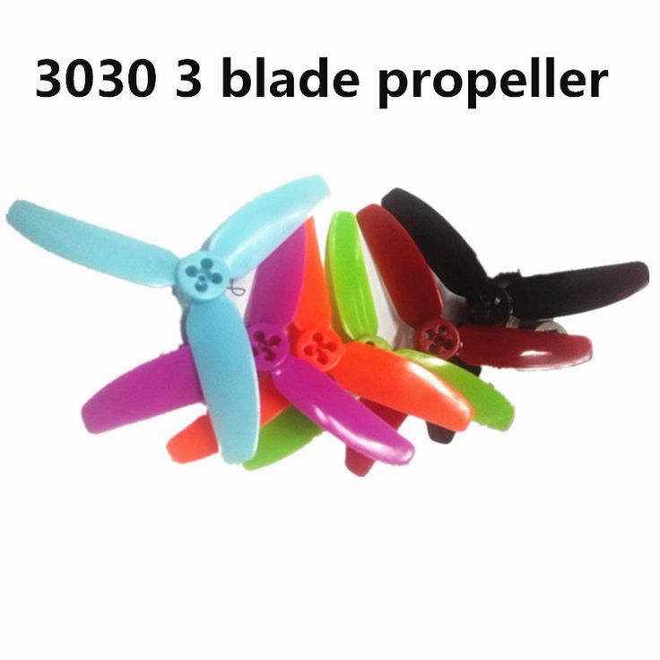 6 Pairs 3030 Propellers 3 Inch Blade Propeller CW CCW For DIY Mini Race Drones 1104 Motor QAV R X Quadcopter