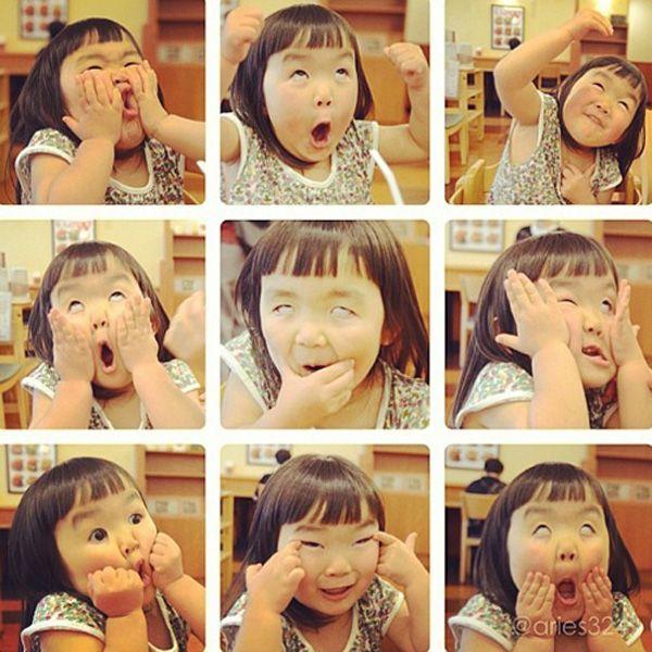 Bé gái 'khuynh đảo' Instagram với mặt xấu cực đáng yêu - Tiin.vn
