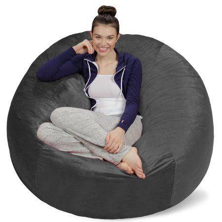 Free Shipping. Buy Sofa Sack Memory Foam Bean Bag Chair - 5 ft at Walmart.com #BestMemoryFoam