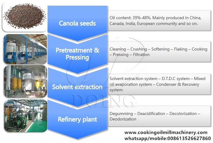 Canola Oil Making Machine Canola Oil Production Line How To Make Oil Canola Oil Refinery