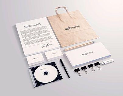 """Check out new work on my @Behance portfolio: """"Branding for TruePhone"""" http://be.net/gallery/40253611/Branding-for-TruePhone"""