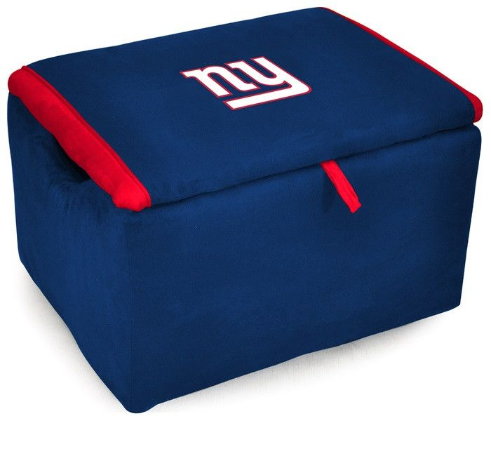 [[start Tab]] Description The Officially Licensed New York Giants NFL  Storage Bench Is Great For Storage Of All Kinds And Provides Extra Seating.