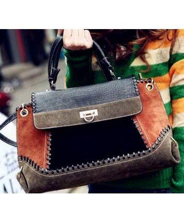 Tas Import G231-BROWN harga grosir Merek Berkualitas OEM Model : BAG Brand : OEM ---- Original Product : China Material: PU Leather Height:    16 cm Length:    40 cm Depth:     16 cm Bag Mouth:  Zipper Weight:    850g   ..