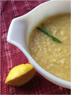 Kurdish lentil soup