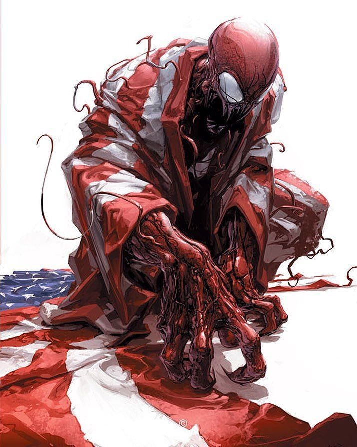 claytoncrain is the premier artist for Carnage No one