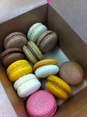 Beautiful Macarons from Cafe-cre-asion, Sydney
