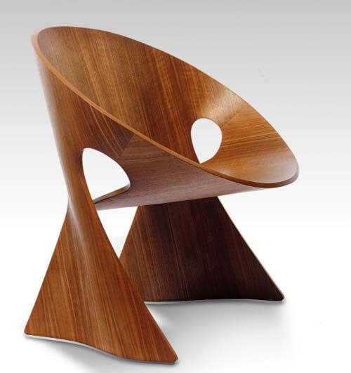 Wooden chair from statement chairs decor indoor for Wooden furniture design
