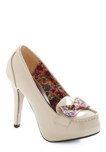 Perfect Harmony Heel | Mod Retro Vintage Heels | ModCloth.com - StyleSays
