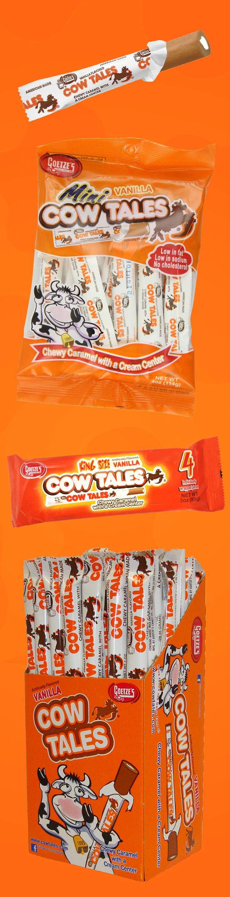 Do you remember these delicious, chewy caramels with the cream center? They're made in USA and completely nut-free! Find Goetze's Cow Tales in a store near you. Try searching your home town in their Product Locator.