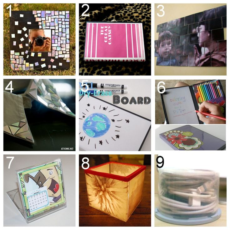 Lovely Dvd And Cd Reuse Tutorials Amazing Pictures