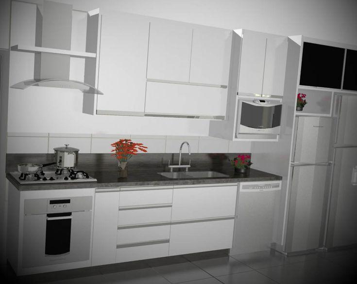 17 Best ideas about Armario De Cozinha Planejado on Pinterest  Cozinhas, Coz # Armario Cozinha Planejado Pequeno