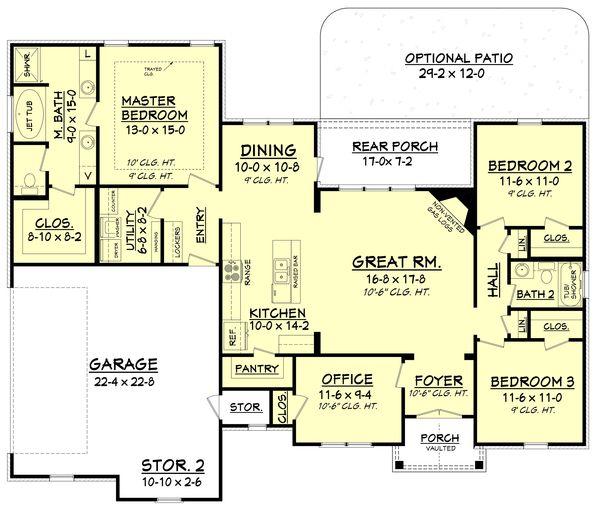 Best 20+ Craftsman Floor Plans Ideas On Pinterest | Craftsman Home Plans, House  Plans And Craftsman House Plans