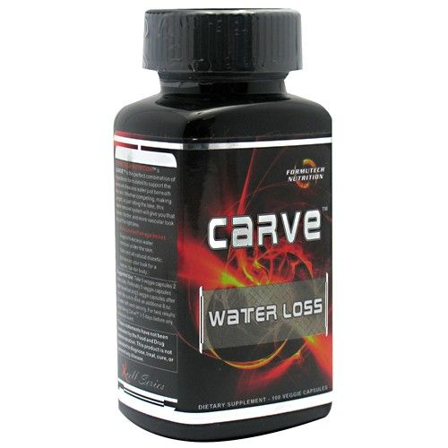Formutech Nutrition Carve Water Loss! Natural Diuretic!