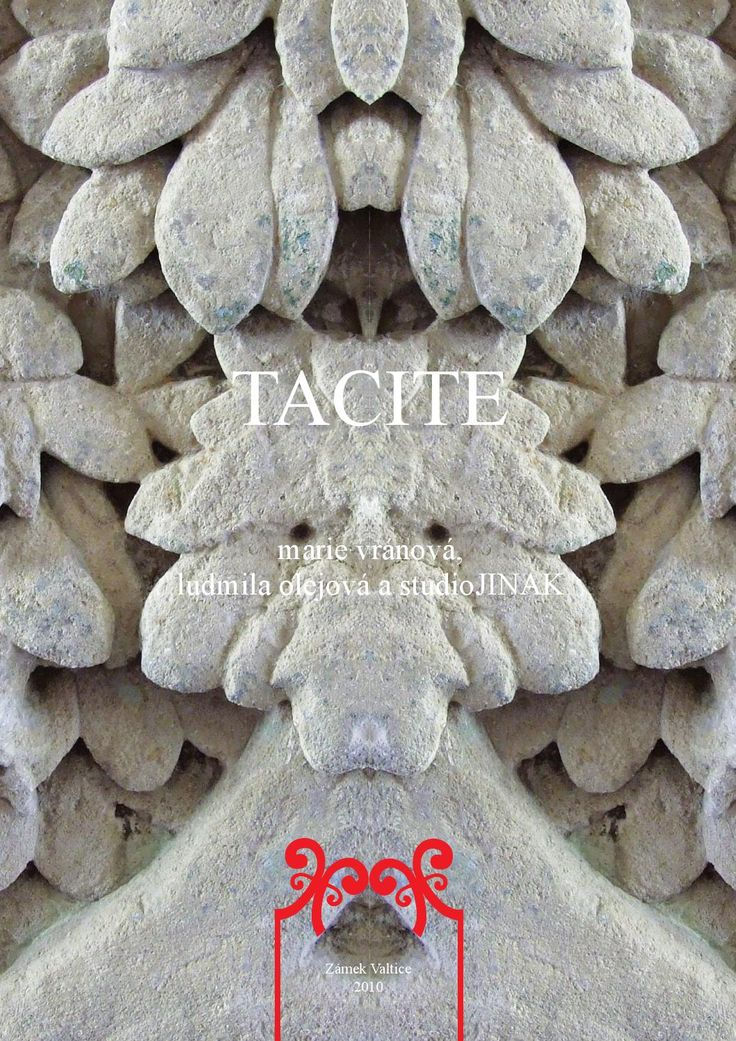Catalogue of art performance and exhibition TACITE 2010 from Studio JINAK and Marie Vranova.