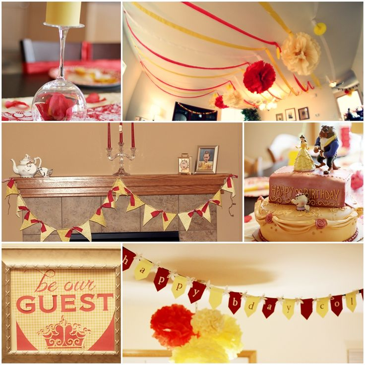Belle Birthday Party Decorations 63 Best Images About Beauty And The Beast Party On Pinterest