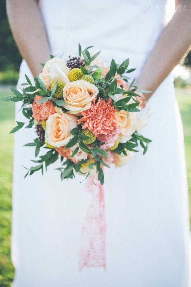 ©Celine Hamelin - Un mariage colore a la grange de Fontenay - La mariee aux pieds nus