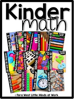 KinderMath Curriculum is a Kindergarten Math Curriculum set of units and are teacher created, kid-tested, and most importantly kid-approved! KinderMath curriculum takes away that monotonous way of teaching math where students sit and listen to the teacher TEACH math.