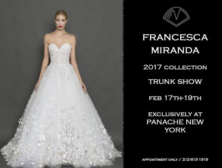 Unique PANACHE Bridal is a luxury bridal salon in New York City renowned for having the most discerning collections from the world us most coveted evening u bridal