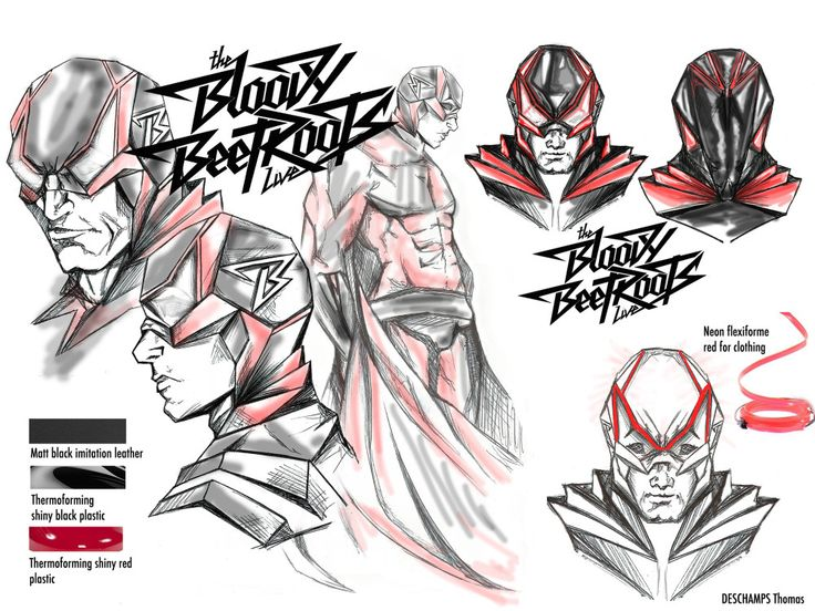 The Bloody Beetroots by DESCHAMPS Thomas