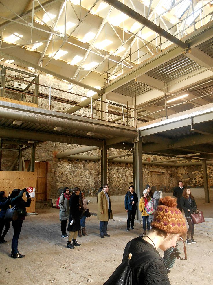 IA Site Visit Former Sugar Making And Brewery Building Owned By Cubex Central Project SiteInterior ArchitectureDesign ProjectsBristolBrewerySpring