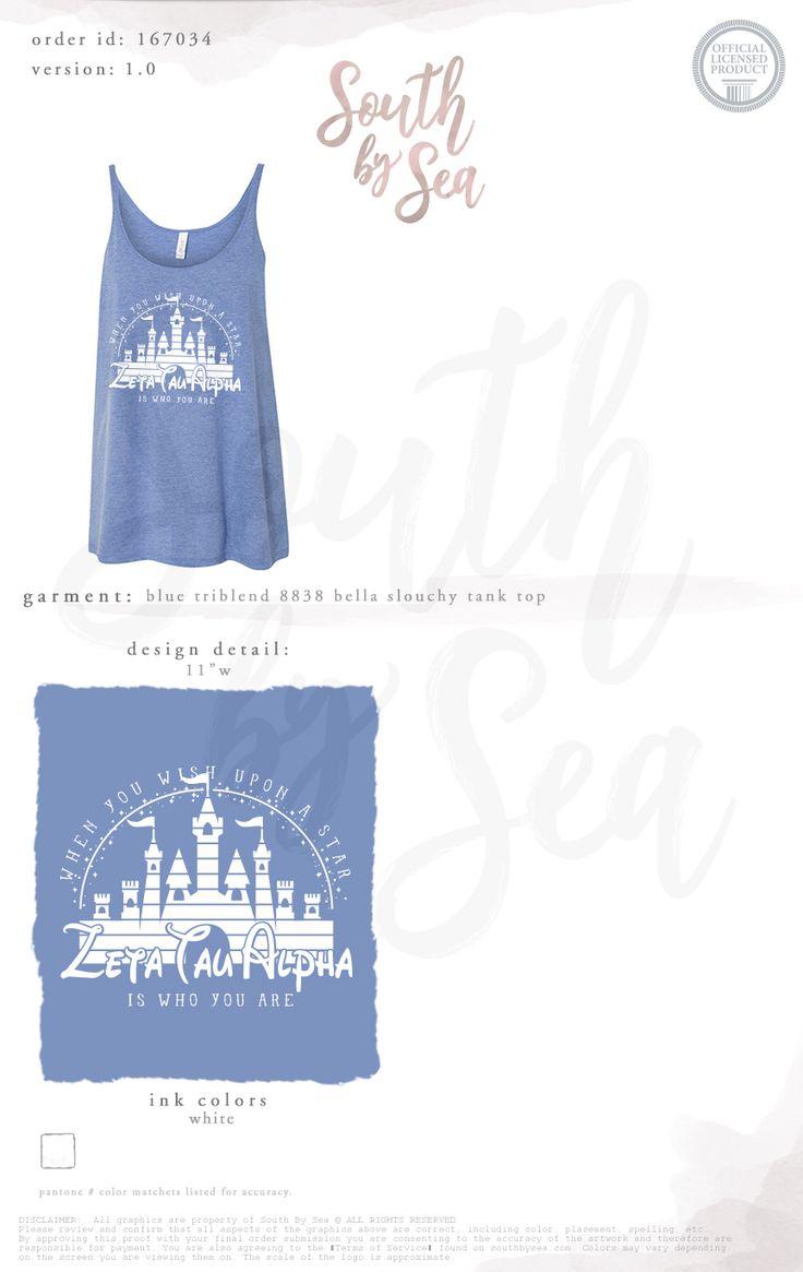 South by Sea | Greek Tee Shirts | Greek Tank Tops | Custom Apparel Design | Custom Greek Apparel | Sorority Tee Shirts | Sorority Tanks | Sorority Shirt Designs | Sorority Shirts | TShirts | Sorority T-Shirts | Classic | Custom Greek TShirts | Greek Life | Sorority Clothes | Sorority T-Shirt Ideas | Custom Designs | Custom | Custom Greek | Sorority | Custom Printed T-Shirts | Recruitment | Disney | Castle | Storybook | Fairy tale | Wish Upon a Star