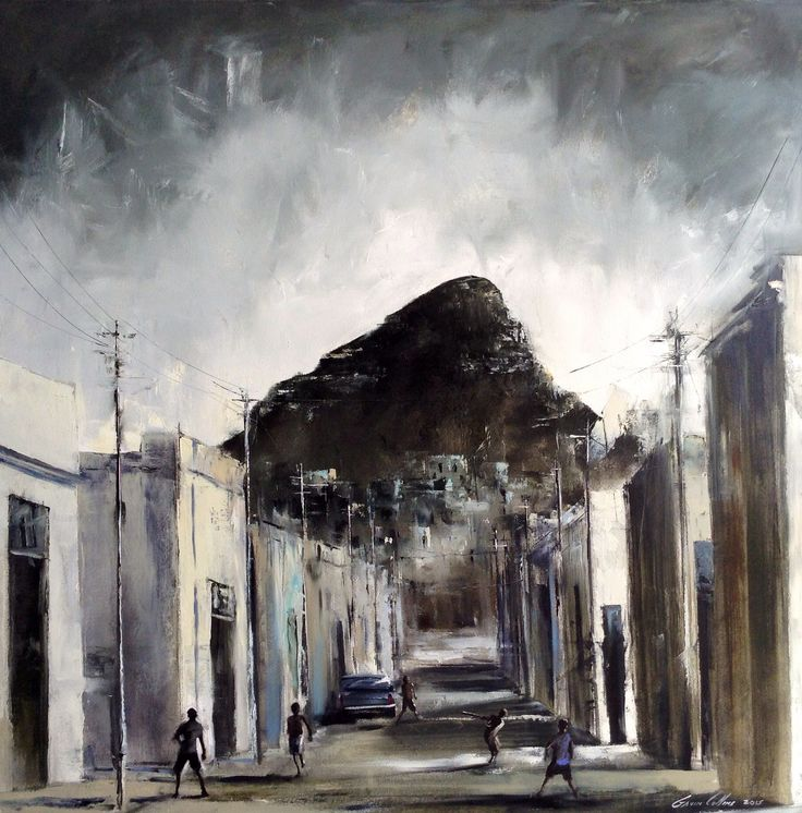 Old Bo-Kaap Cape Town by Gavin Collins