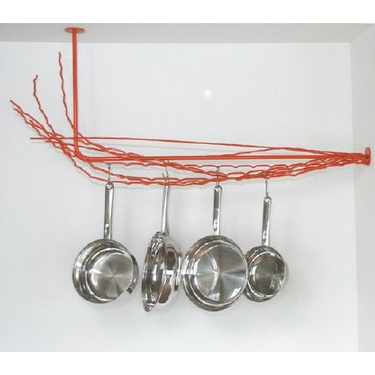 Pot rack....I want this to replace the traditional one that I have.