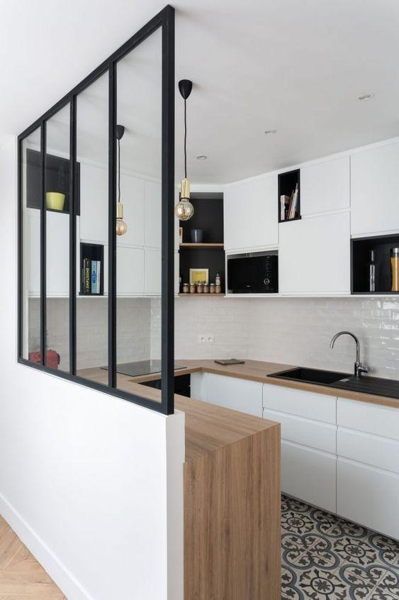 Voici notre sélection de 52 cuisines blanches tendances canons pour l'inspiration maison! en ...