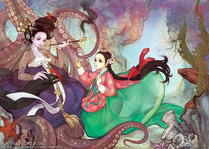 Arriverez-vous à reconnaître ces princesses Disney en version asiatique ?