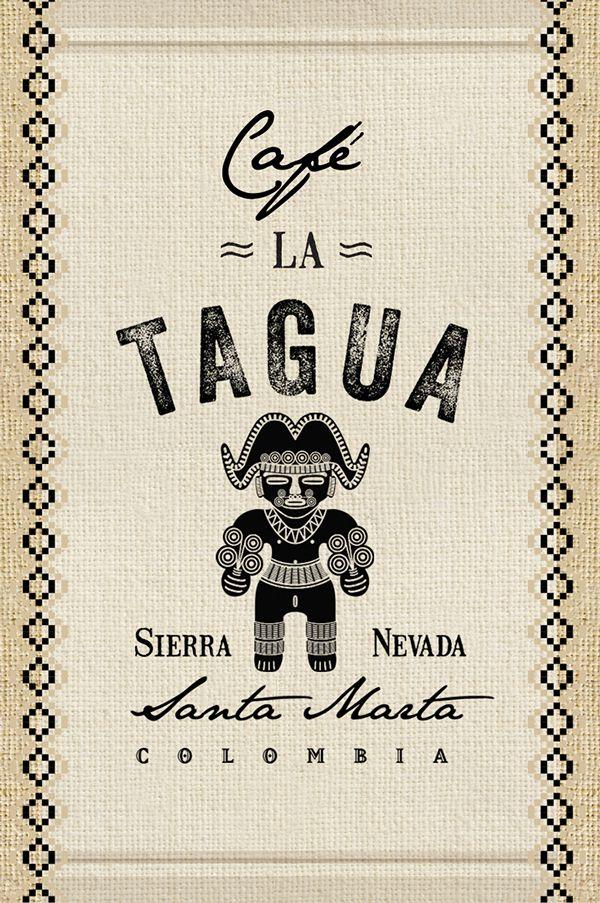 Cafe LA TAGUA #plasmanodo #historiascoherentes #medellin #colombia #design #diseño #logo #branding