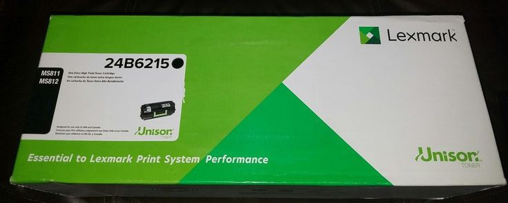 Ms811 Ms812 Genuine Unison Lexmark OEM 24B6215 Extra High Yield Toner Cartridge | Computers/Tablets & Networking, Printers, Scanners & Supplies, Printer Ink, Toner & Paper | eBay!