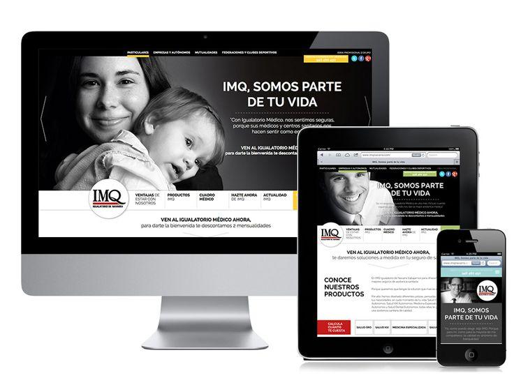 Web para IMQ // Website for IMQ