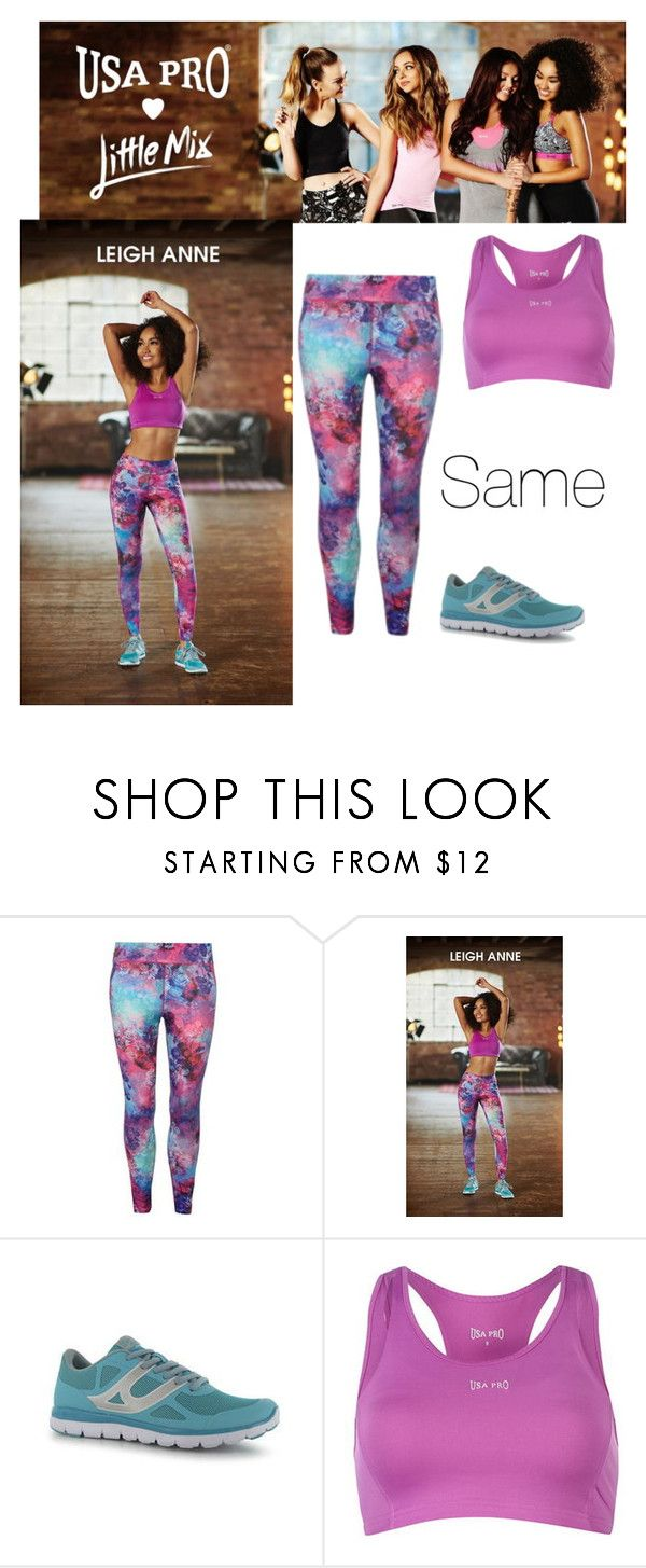 """""""Little Mix Usa Pro-Leigh-Anne"""" by jenny-malik19 ❤ liked on Polyvore featuring USA Pro"""